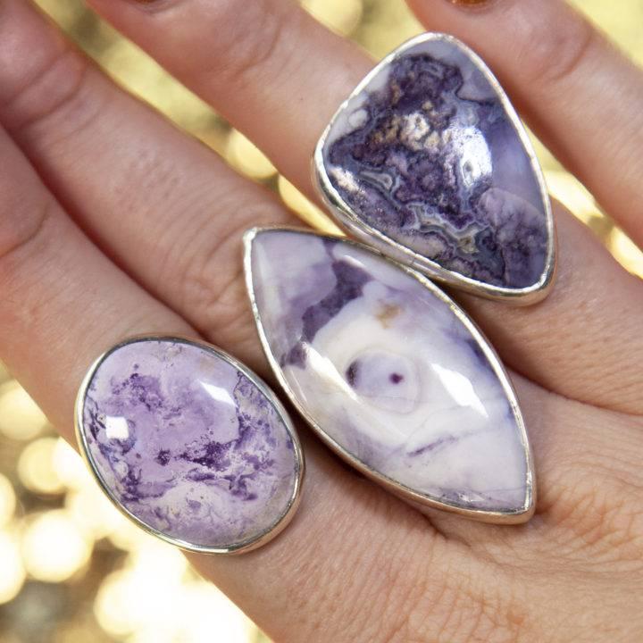 Tiffany Stone Adjustable Rings