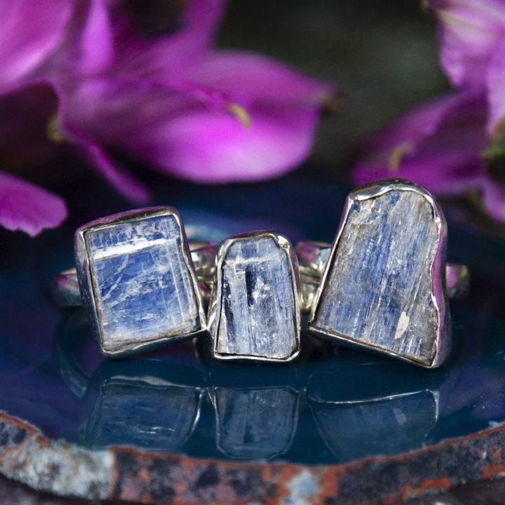 Ultimate Alignment Blue Kyanite Rings