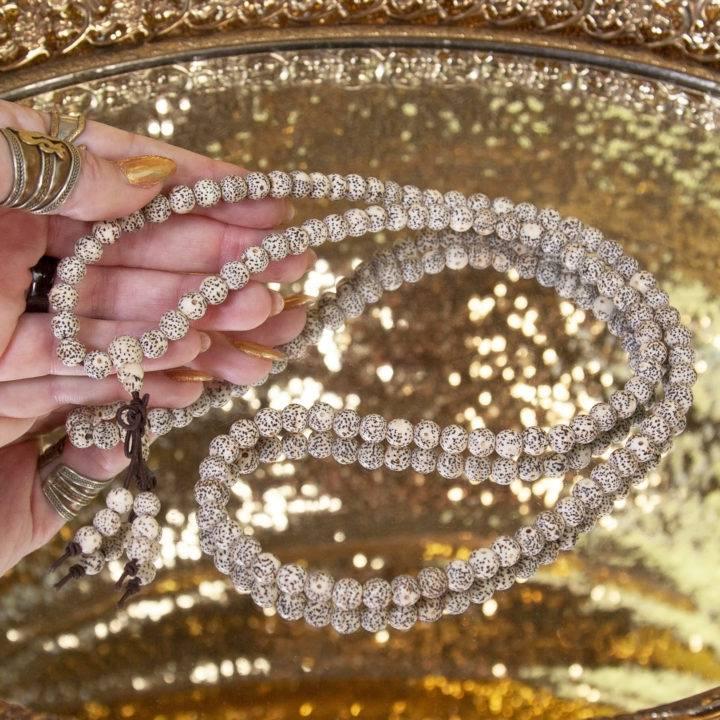 White Lotus Beads