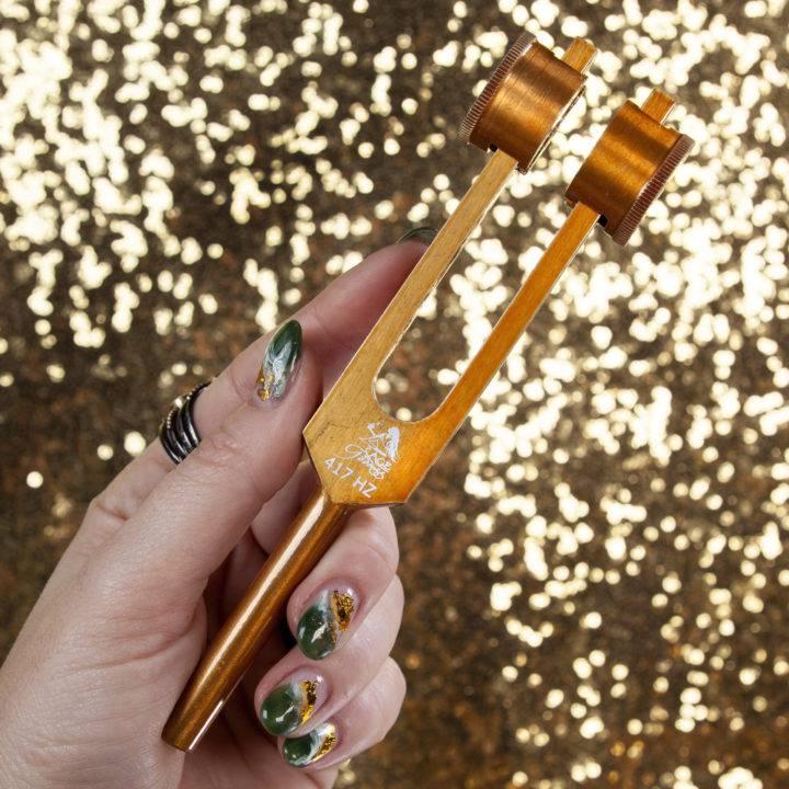 417 Hz Sound Healing Tuning Forks