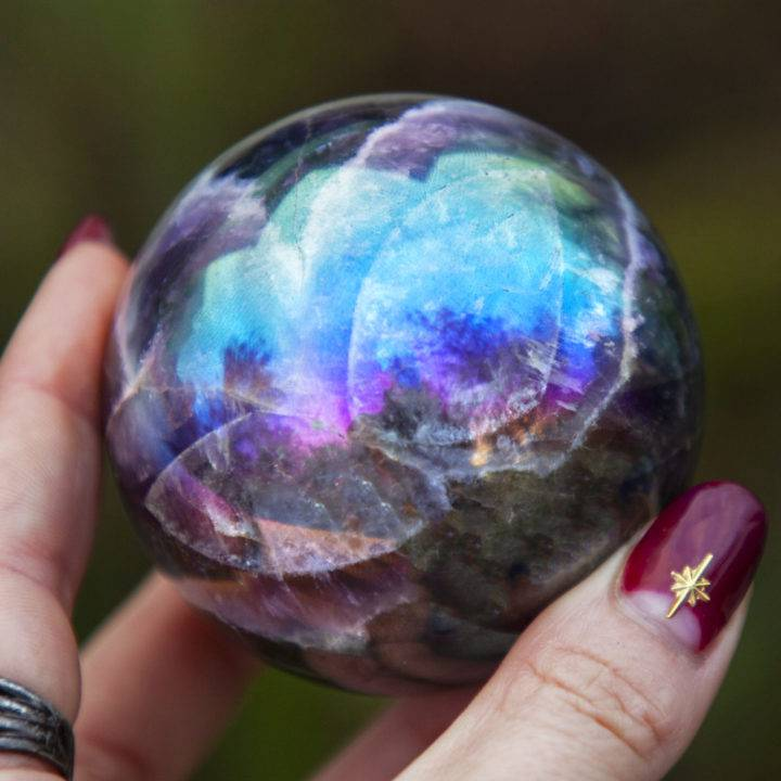 Aura Dream Amethyst Spheres