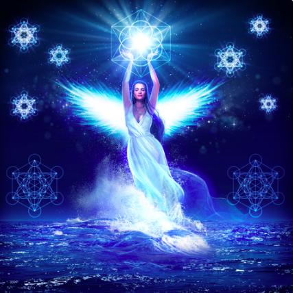 Alcyone Kingfisher Goddess Yule Set