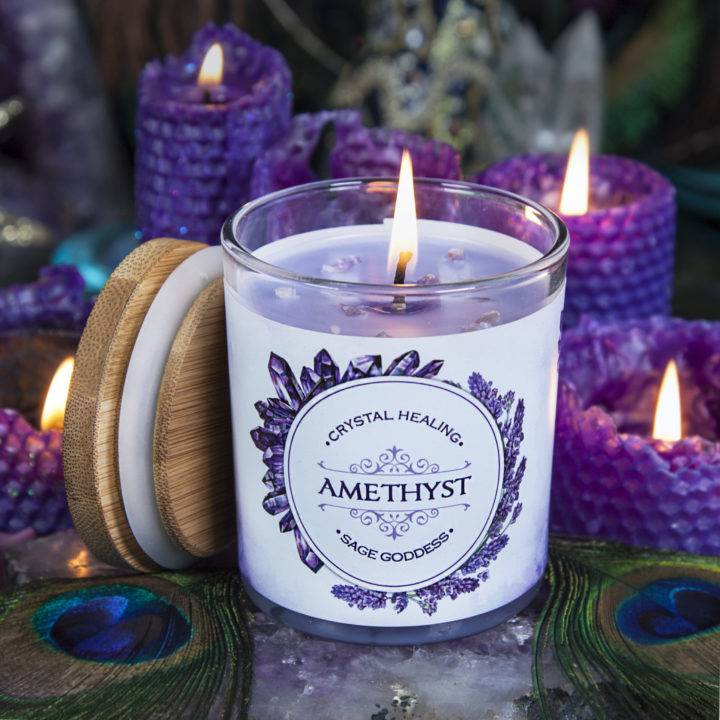 Amethyst Intention Candles