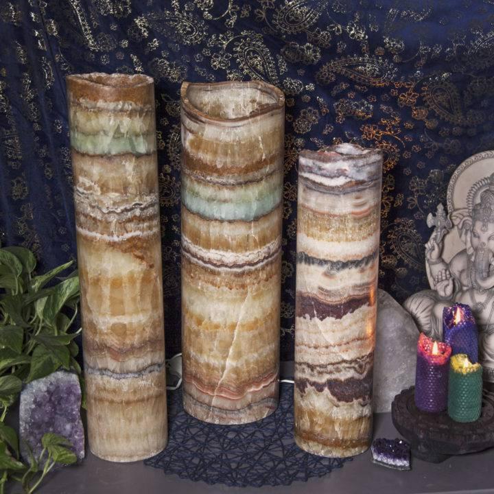 Aqua Onyx Inner Strength Lamps