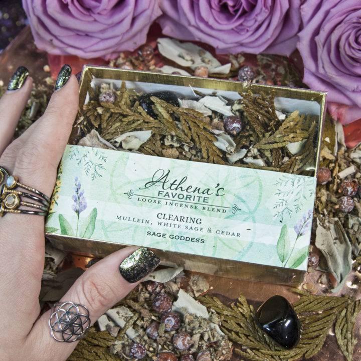 Athenas Favorite Clearing Incense Blend
