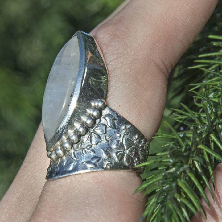 Athenas Moonstone Ring Replica