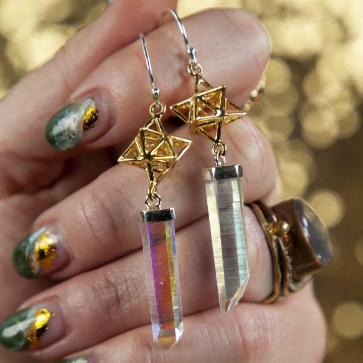 Aura Lemurian Earrings