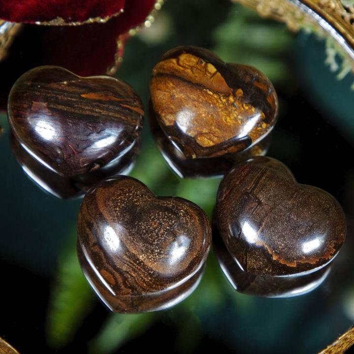 Boulder Opal Heart