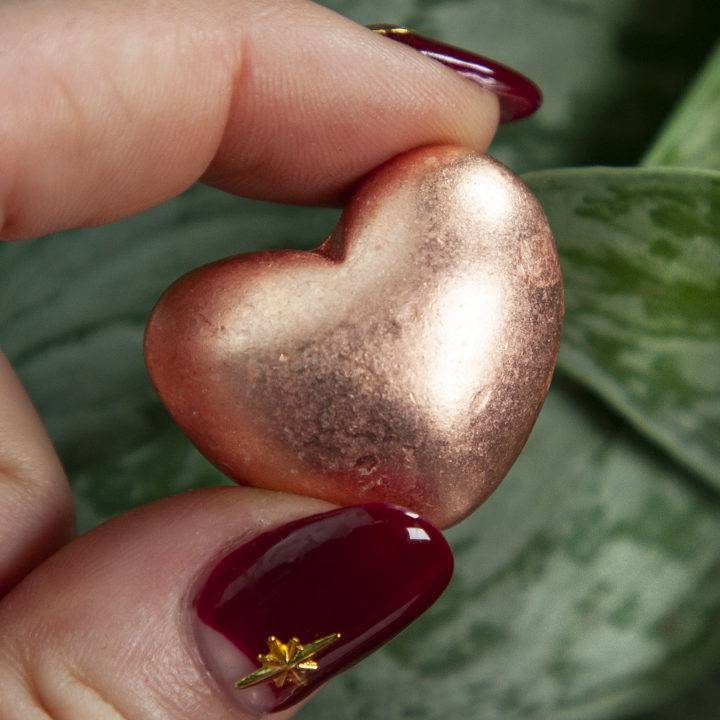 Copper Healing and Harmony Hearts