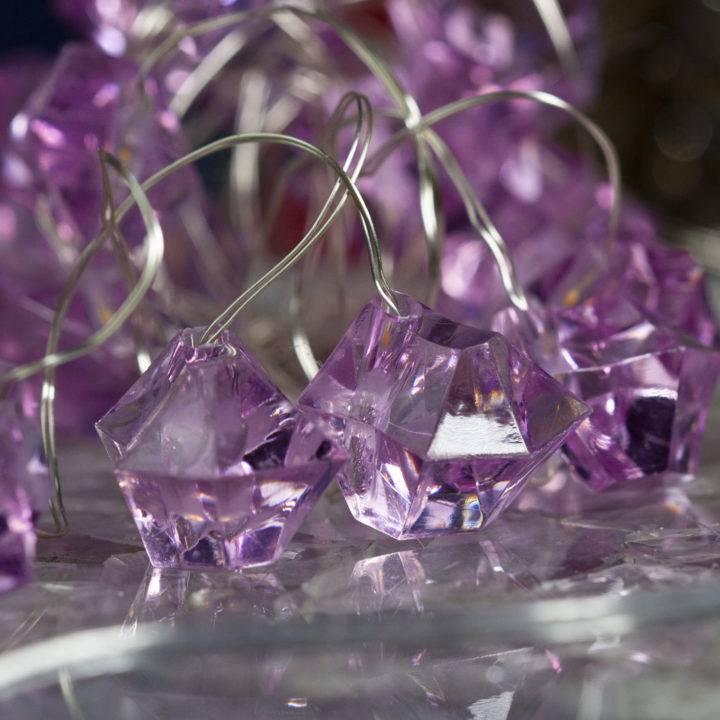 Crystal Shaped Fairy Lights