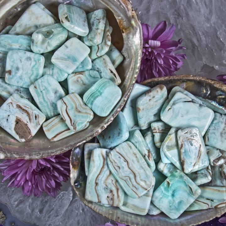 Caribbean Calcite Bra Stone
