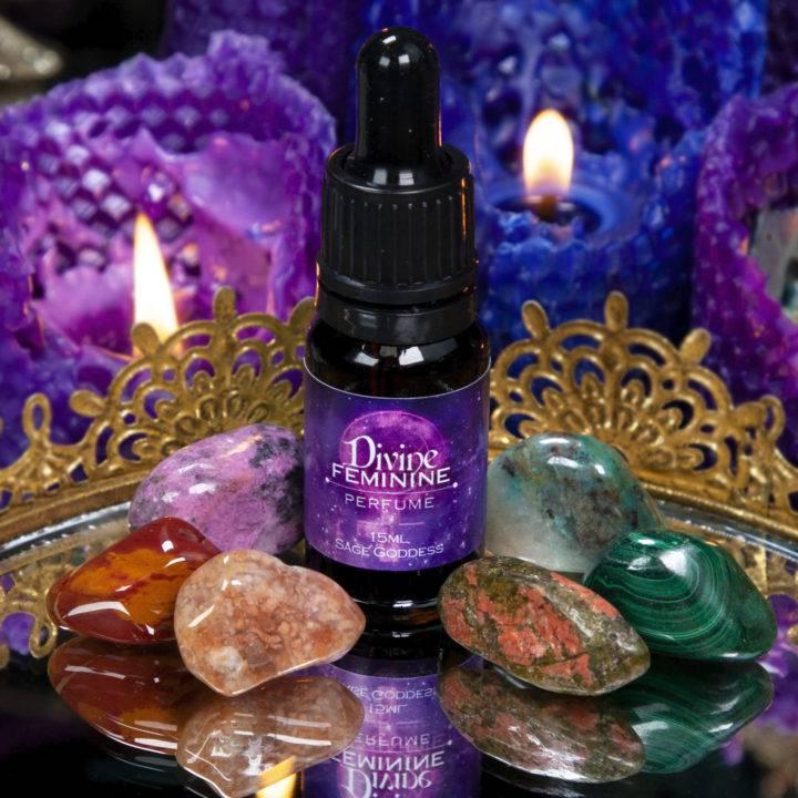 Divine Feminine Gem Set and Perfume