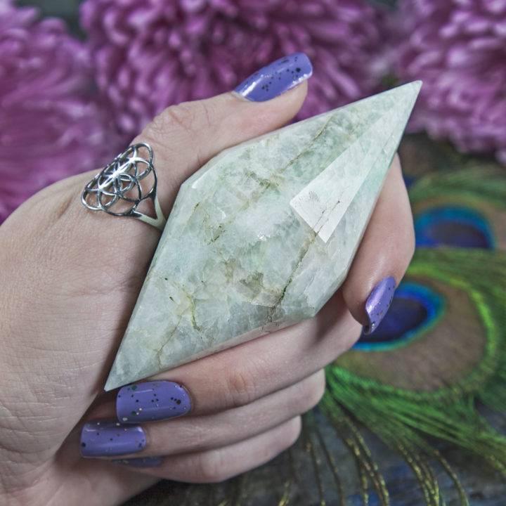 Double Terminated Amazonite Extractor Diamonds