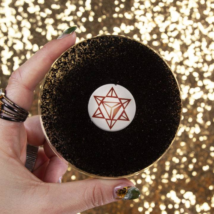 Earth Star Orgone Charging Plate
