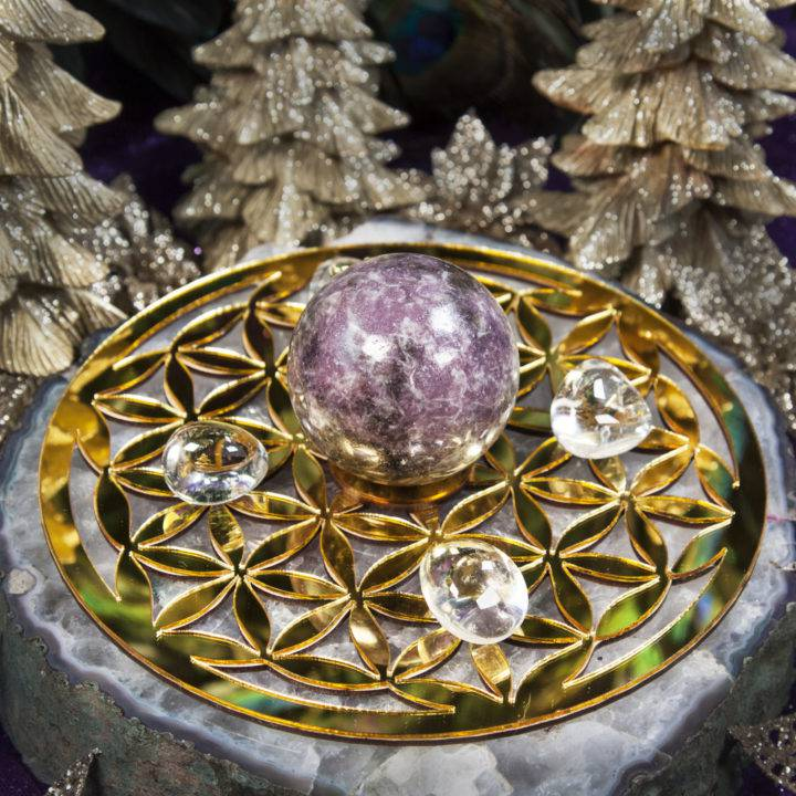 Flower of Life Sphere Stands