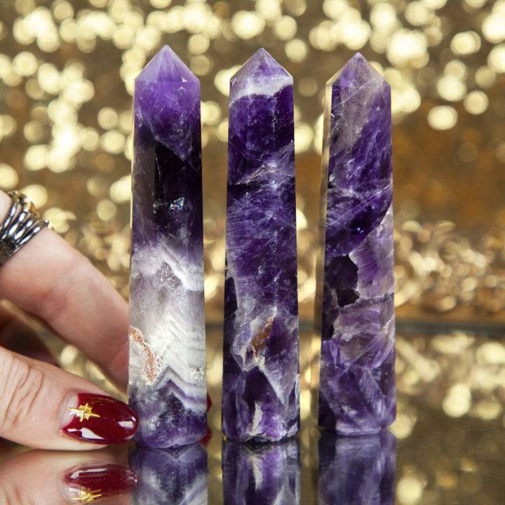 Grounded Peace Amethyst and Hematite Generators