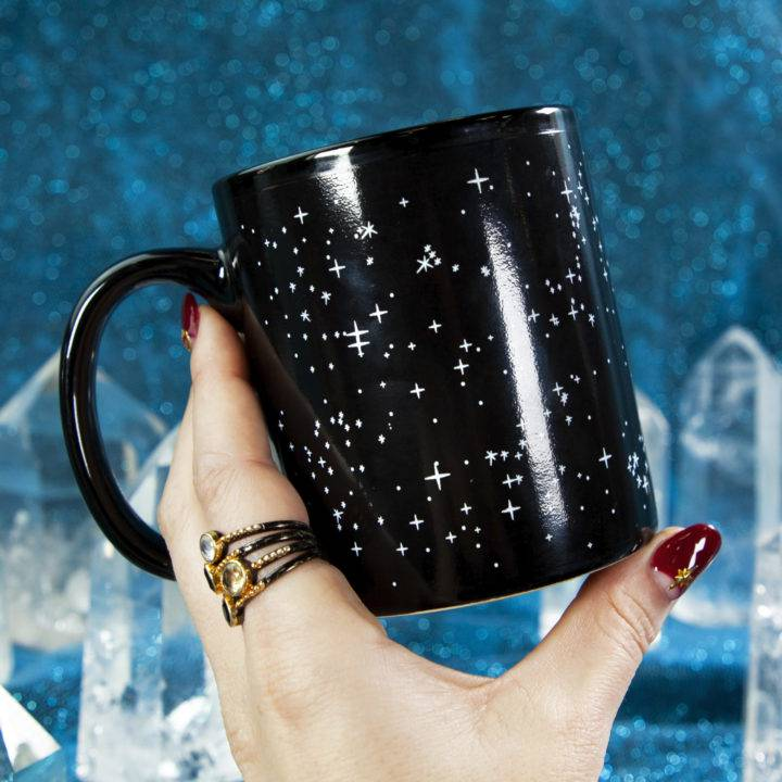 Heat Activated Constellation Mugs