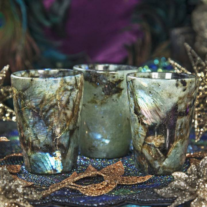 Labradorite Wishing Cups