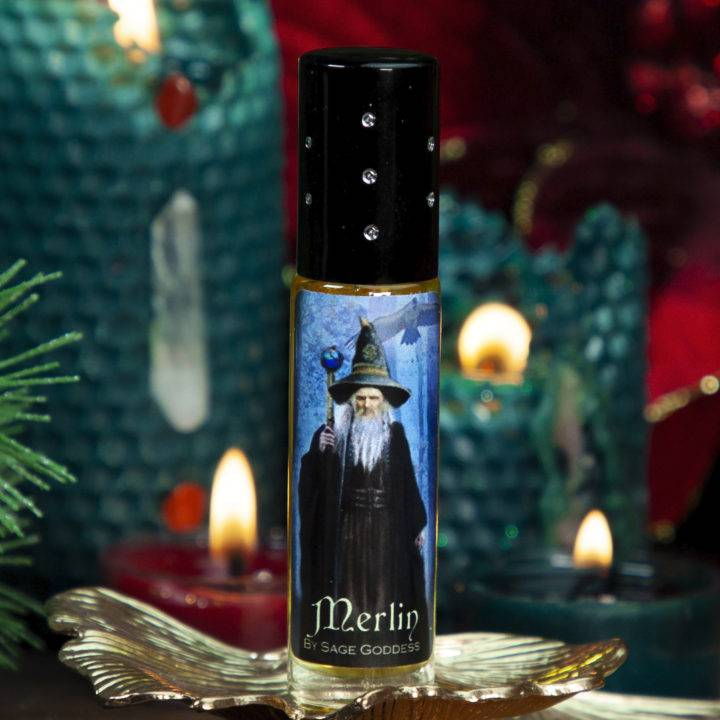 Merlins Wand with Merlin Perfume