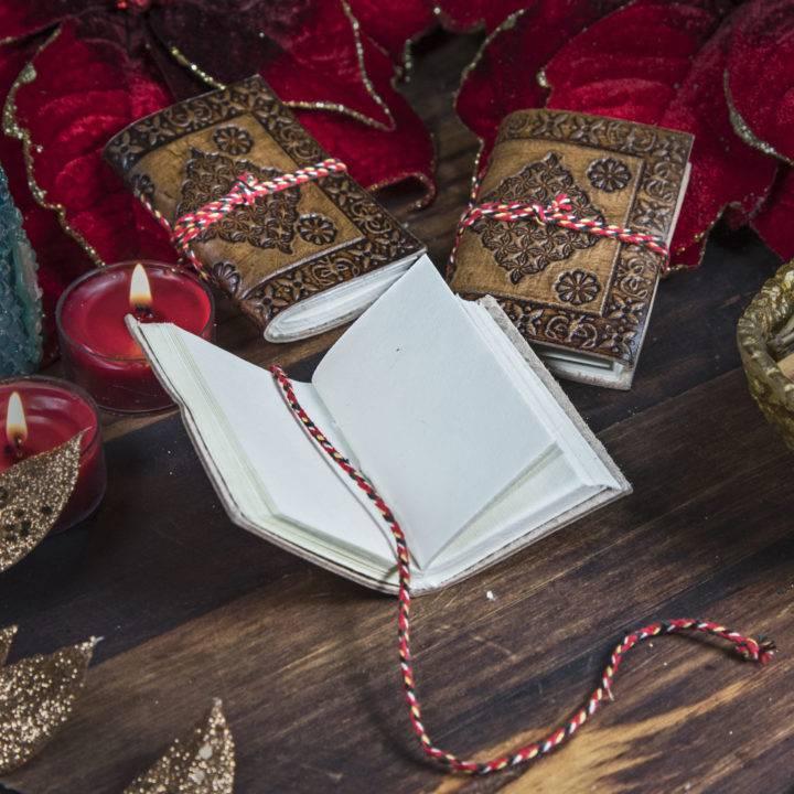 Mini Leather Journals
