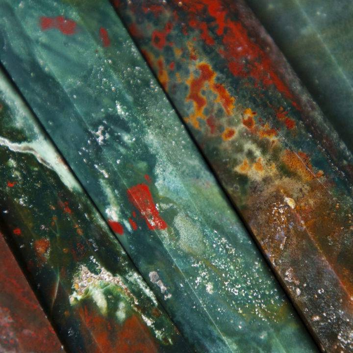 Protective Healing Bloodstone Wands