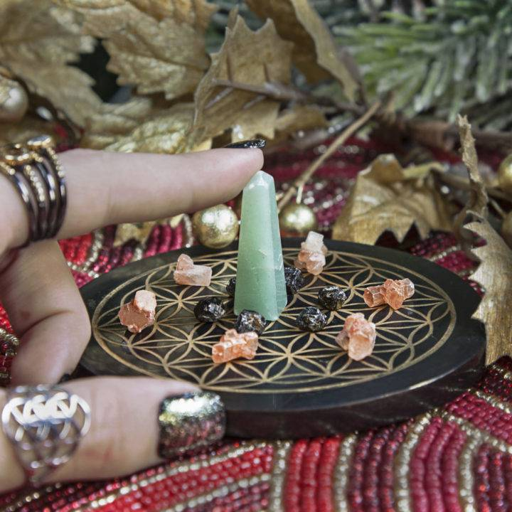 Release Protect and Grow Crystal Grid