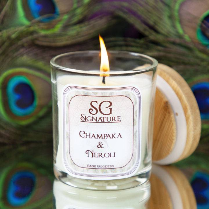 SG Signature Champaka and Neroli Intention Candles