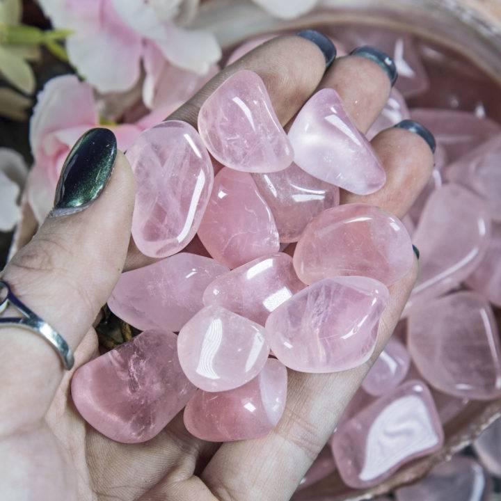 Tumbled Pink Girasol