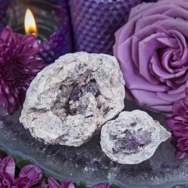 Ultimate Peace Vera Cruz Amethyst Geodes
