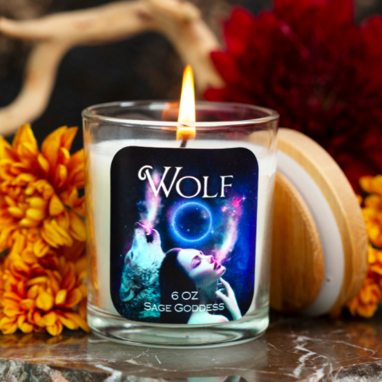 Wolf Intention Candles