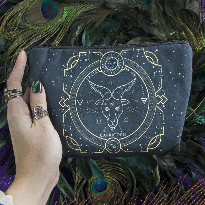 Zodiac Cosmetic Bags