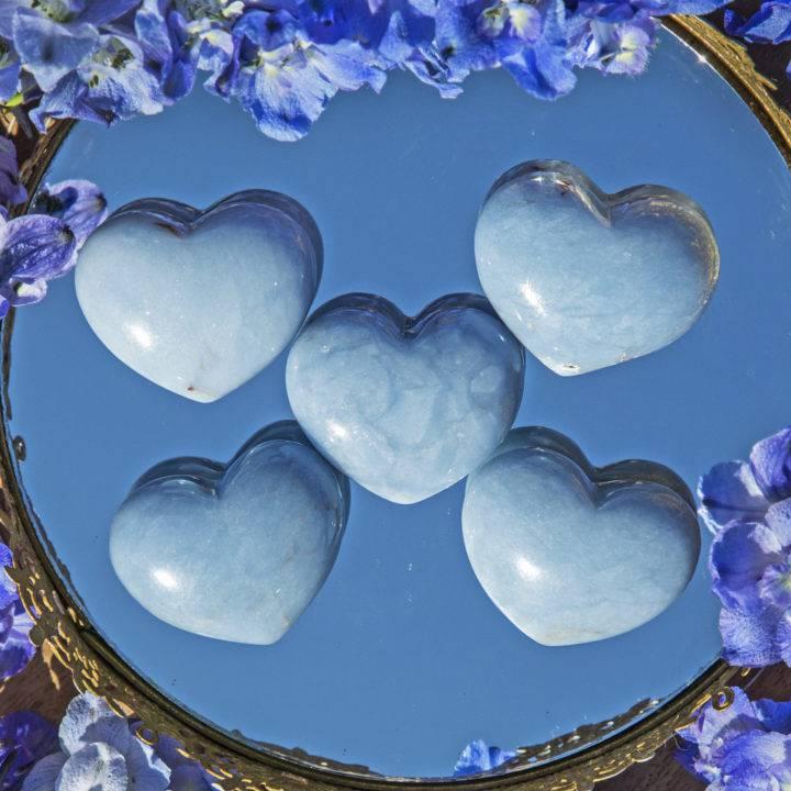 Angelite Angelic Communication Heart