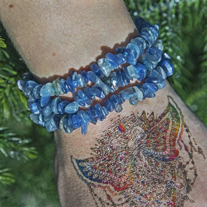 Blue Kyanite Alignment Bracelet