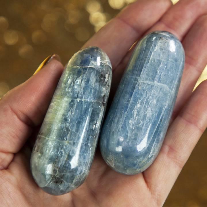 Blue Kyanite Polished