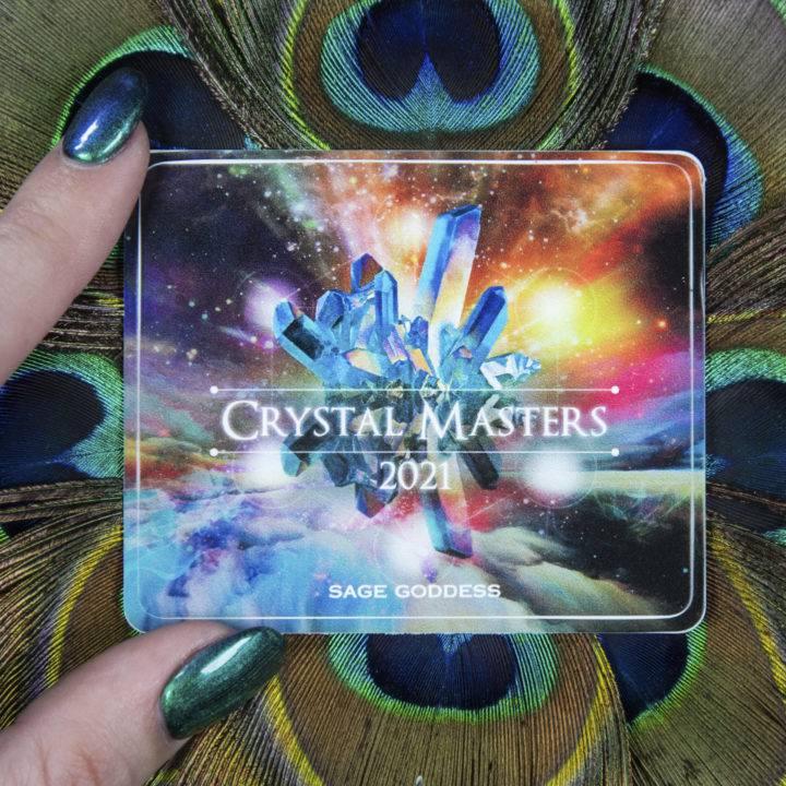 Crystal Masters Sticker