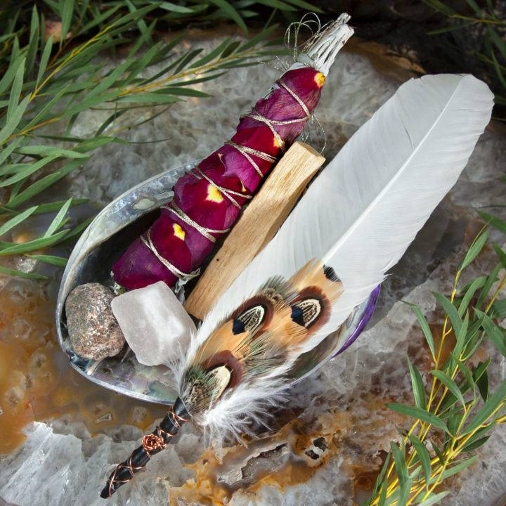 Deluxe Smudging Set