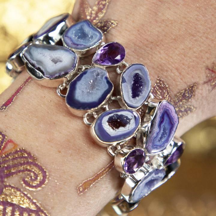 Divine Guidance Sterling Bracelet
