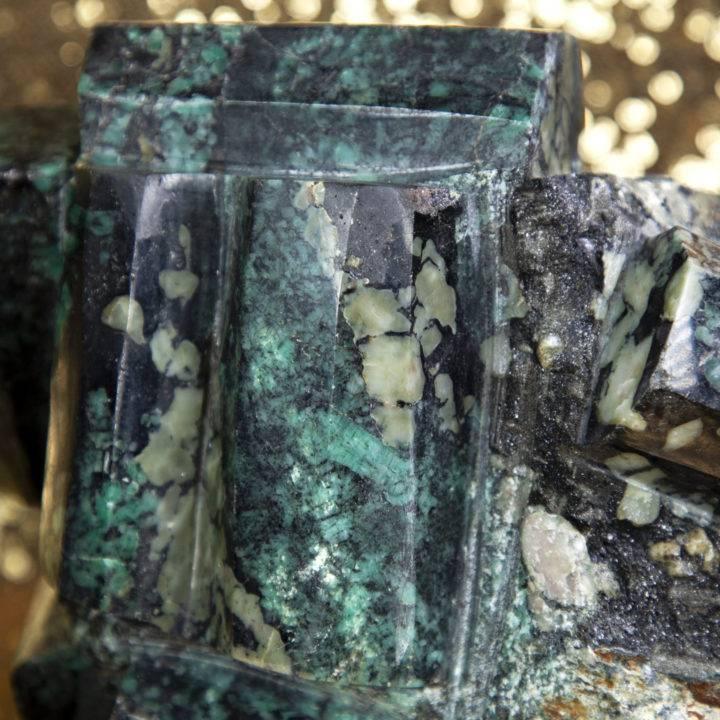 Emerald Polished Cluster