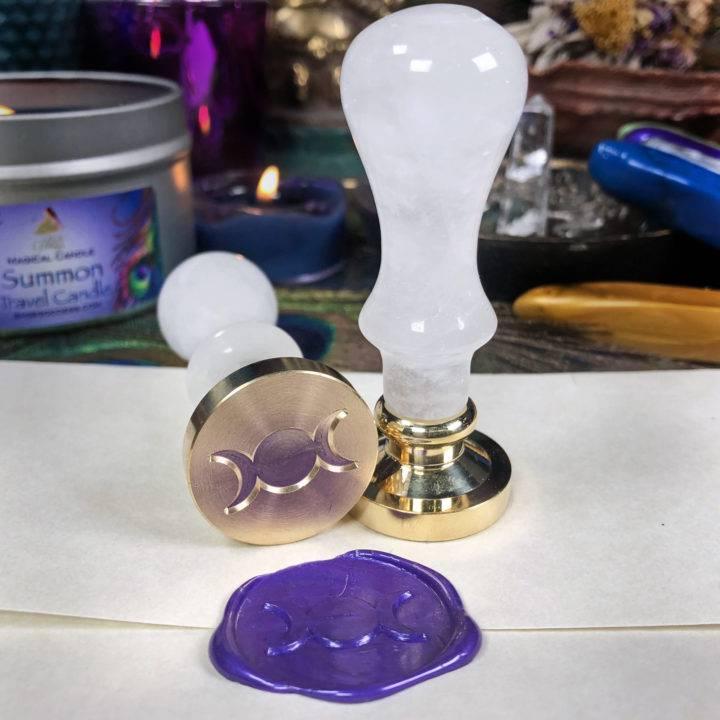 Gemstone Sealing Wax Stamp