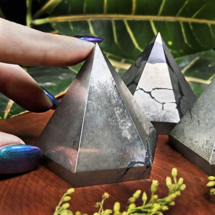 Healers Gold Hexagonal Pyramid