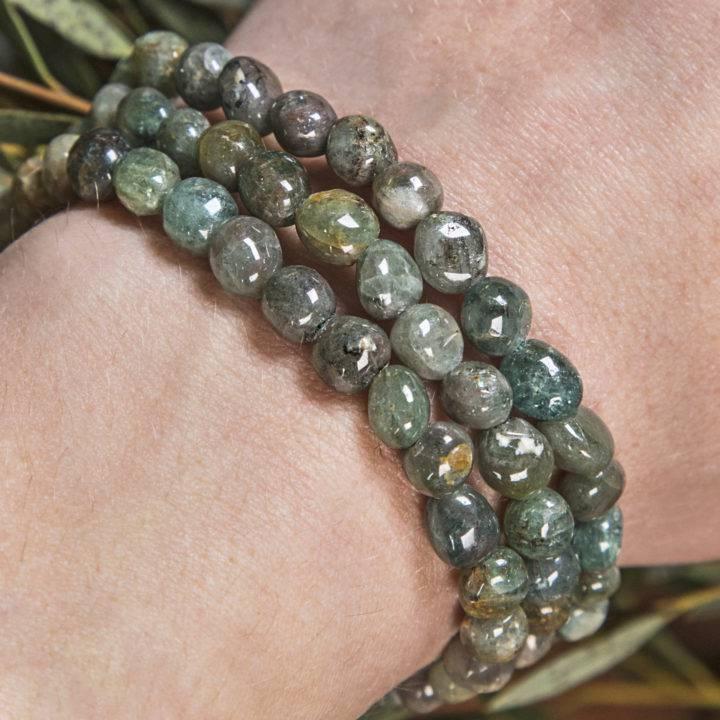 Healing Green Ray Diopside Bracelet