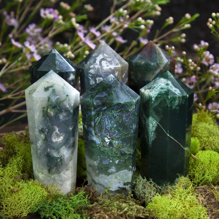 Infinite Healing Moss Agate Generator