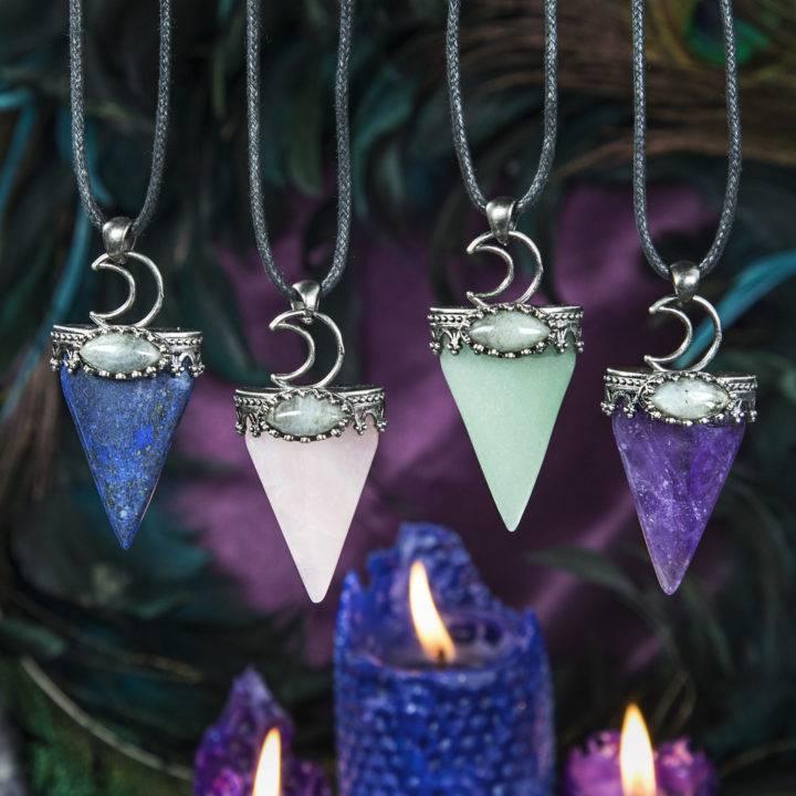 Intuitively Chosen Moon Magic Pendant