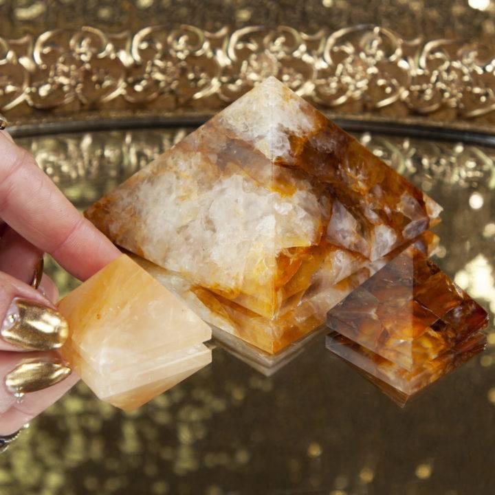 Golden Healer Pyramid