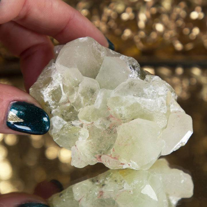Natural Datolite Cluster
