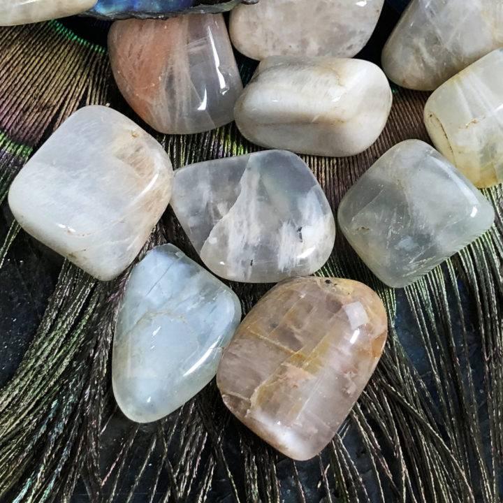 Medium Tumbled Moonstone