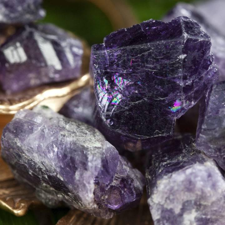 Natural Purple Scapolite