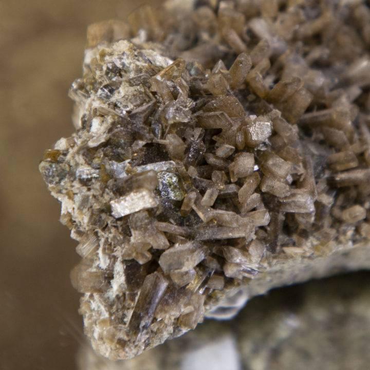 Natural Epidote Cluster