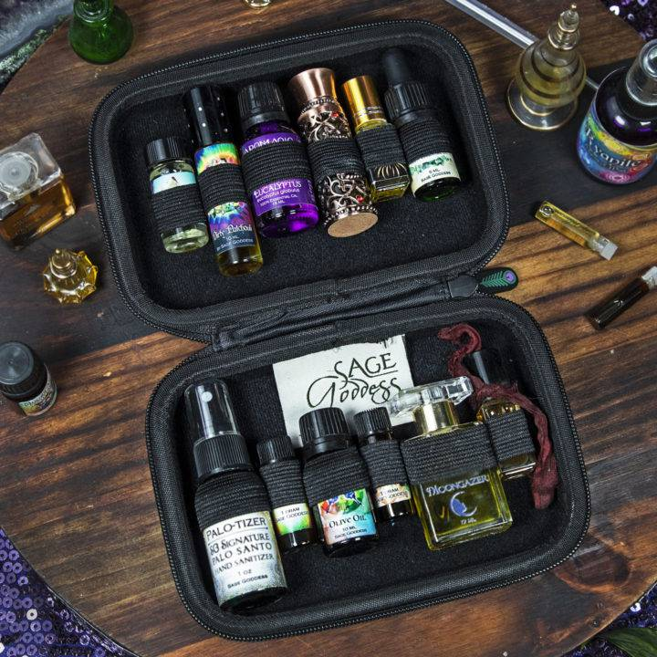 SG Moon Phase Essential Oil Case