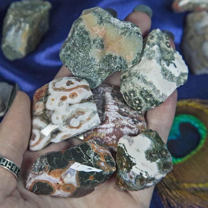 Semi Polished Ocean Jasper